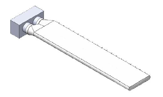 Gaine textile parallélépipédique