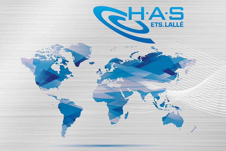 H.A.S dans le monde