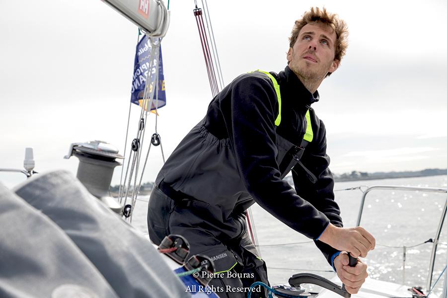 Tanguy Le Turquais, navigateur et coureur au large
