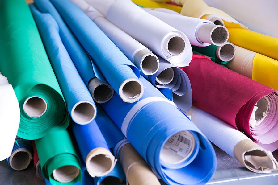 Types de gaines textiles